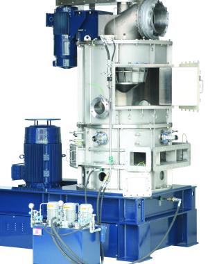 secador de fluxo continuo - Hosokawa